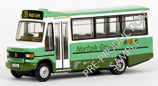 Norfolk Green 55 BUS - © Exclusive First Editions