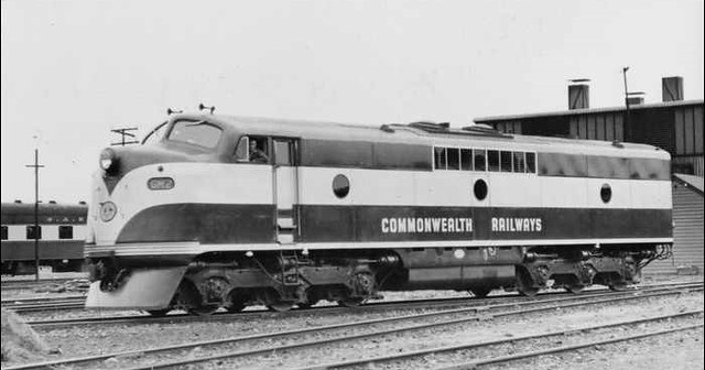 Commonwealth Railways locomotive