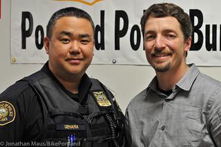 Capt Chris Uehara and I