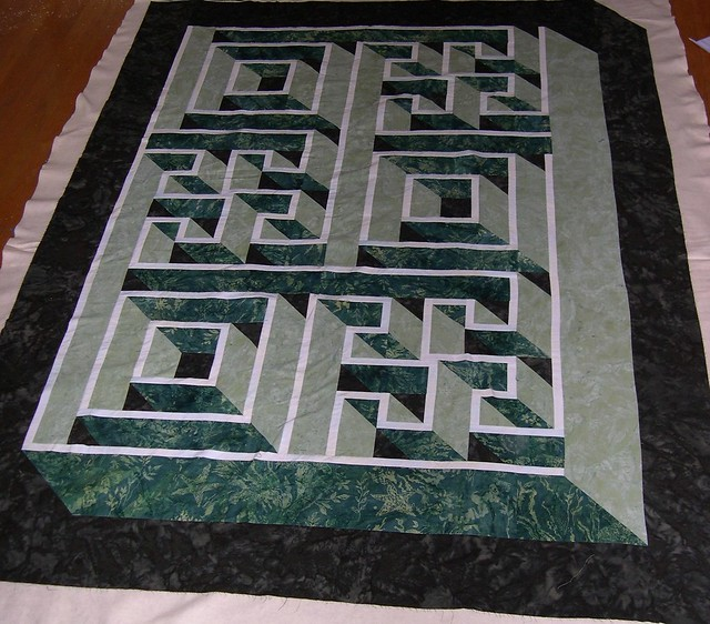 Labyrinth Quilt Pattern Free Download : photo