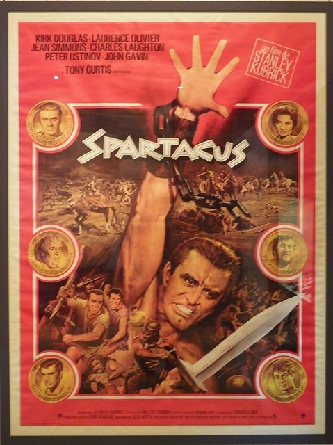 Spartacus (French poster), Stanley Kubrick (1960)
