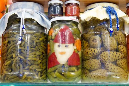 Pickle art