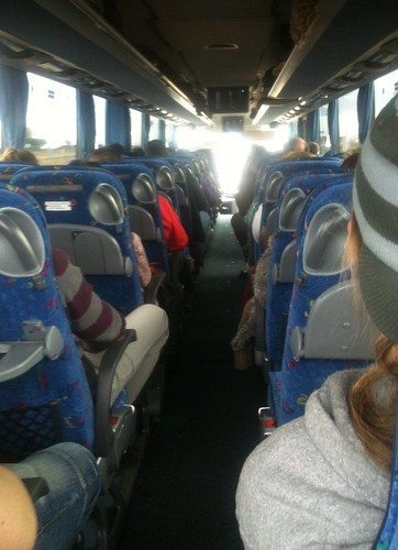 On the bus to Granada