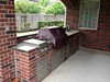 Outdoor kitchen in Colony Lakes