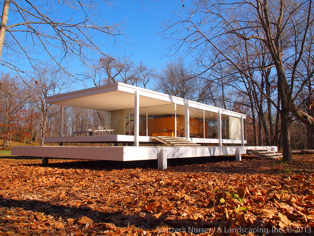 the edith farnsworth house by ludwig mies van der rohe plano illinois flickr photo sharing. Black Bedroom Furniture Sets. Home Design Ideas