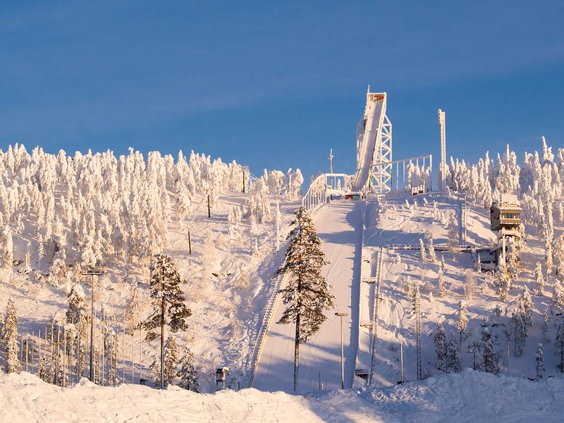 Ski jumping complex