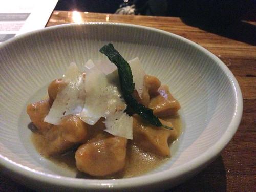 Sweet Potato Gnocchi @ Paiche