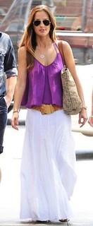 Minka Kelly Camisole Vest Celebrity Style Women's Fashion