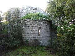 Eglise de Sant' Andria : les ruines de l'abside