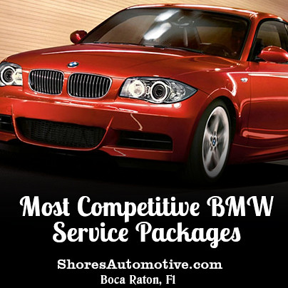 BMW Service Packages Boca Raton
