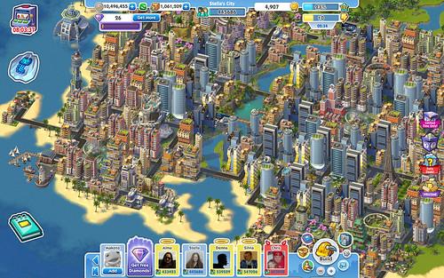 SimCity Social - my island