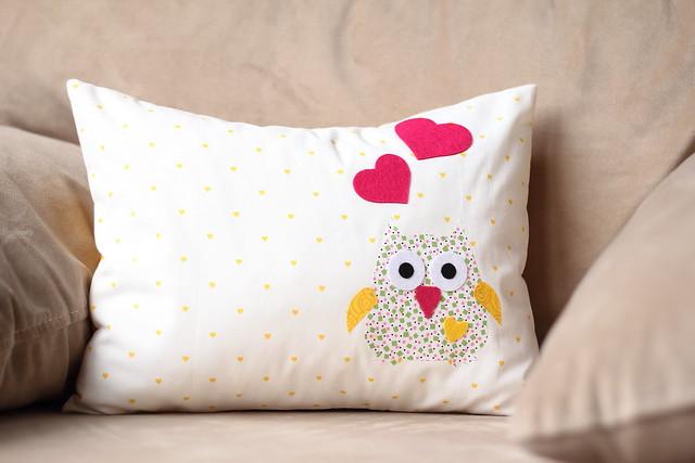 Baykuşlu Yastık - 2