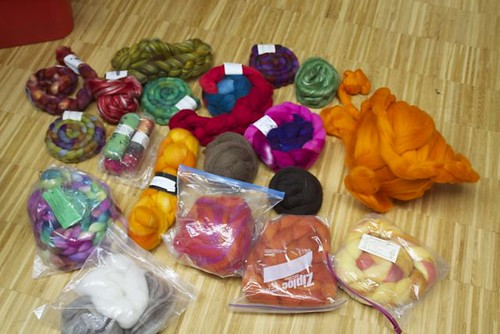 spinning stash