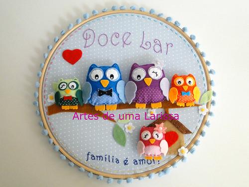 Doce Lar by Artes de uma Larissa