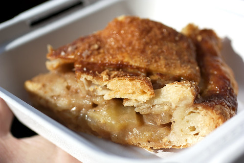 salted caramel apple pie @ 4 & 20 blackbirds