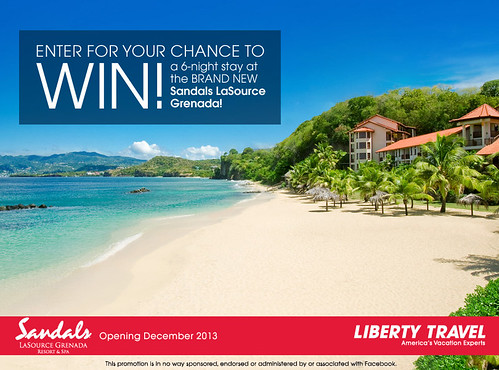 BRAND NEW: Sandals LaSource Grenada