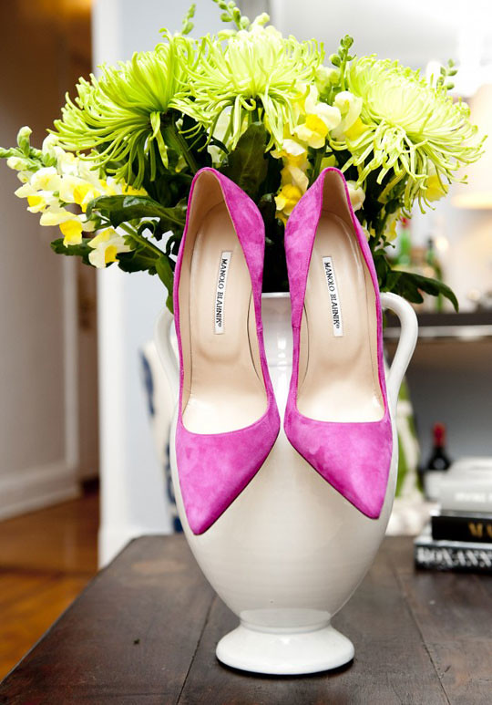 manolo blahnik sample sale mizhattan