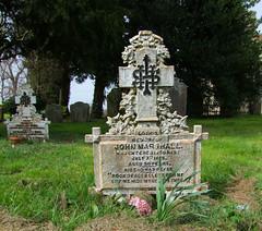 cast iron gravemarker