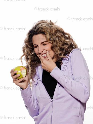 Woman Portrait Toothache Gingivitis,