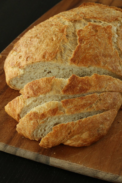 Whole Wheat Quicker No-Knead Bread 2