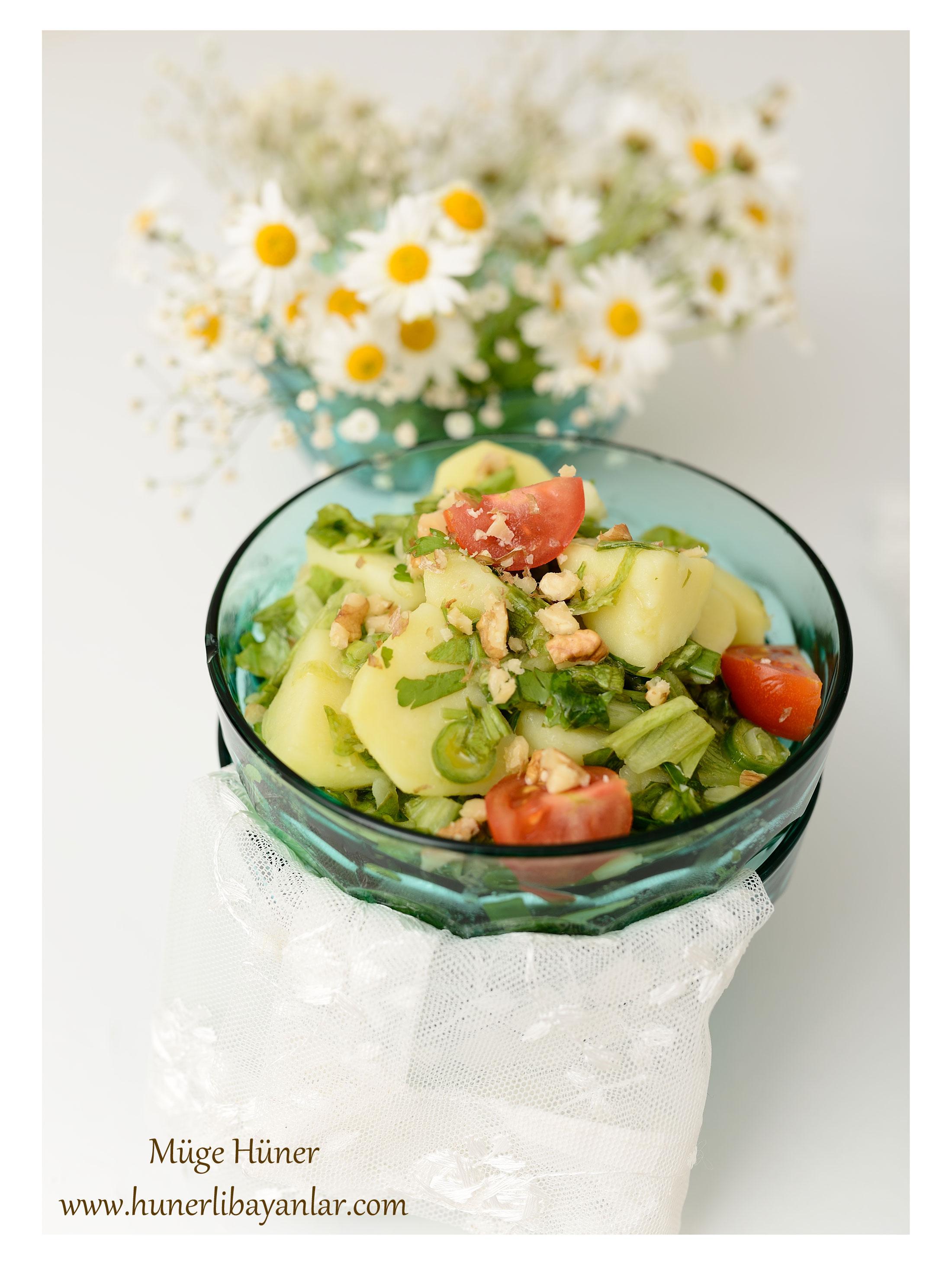Ilık Patates Salatası