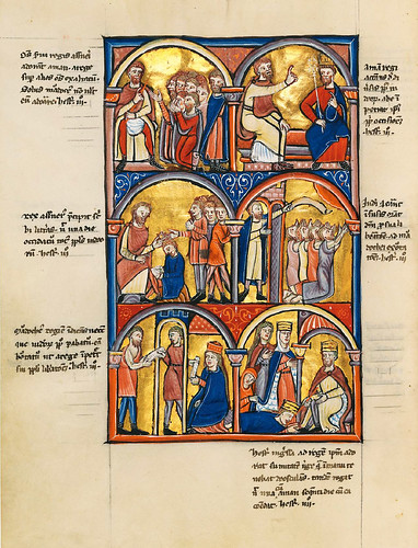 015-Salterio dorado de Múnich-1200-1225 d.C- Biblioteca Estatal de Baviera (BSB)