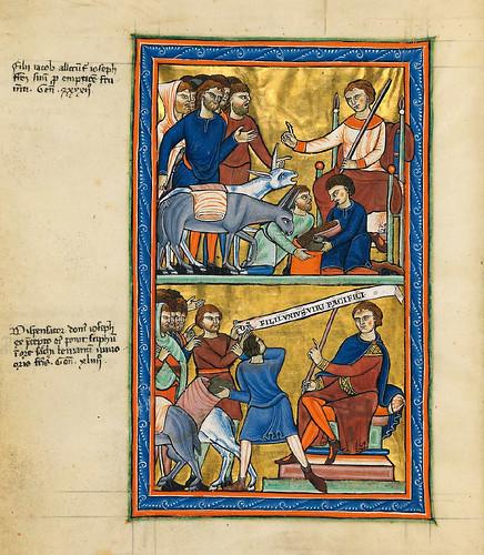 005-Salterio dorado de Múnich-1200-1225 d.C- Biblioteca Estatal de Baviera (BSB)