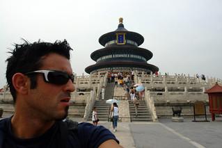 Autofoto en el templo de las Oraciones Templo del Cielo de Pekín, perfección entre tierra y cosmos - 8664937847 6eaf2916f1 n - Templo del Cielo de Pekín, perfección entre tierra y cosmos
