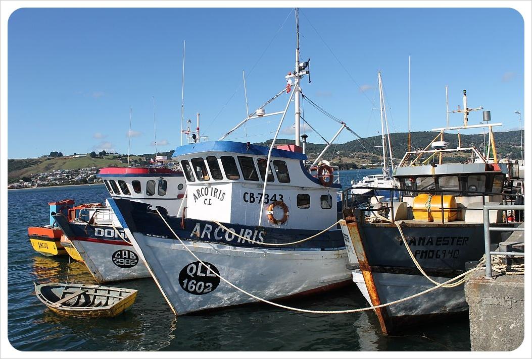 ancud fishing boats