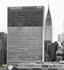 UN and Chrysler Building