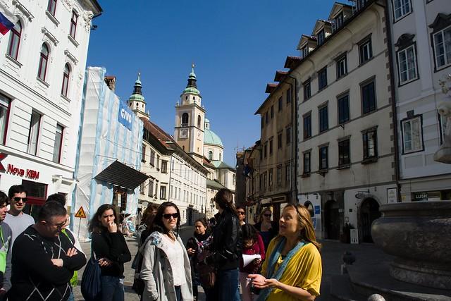 Town Square | Ljubljana, Slovenia
