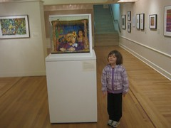 Claire at the Art Museum