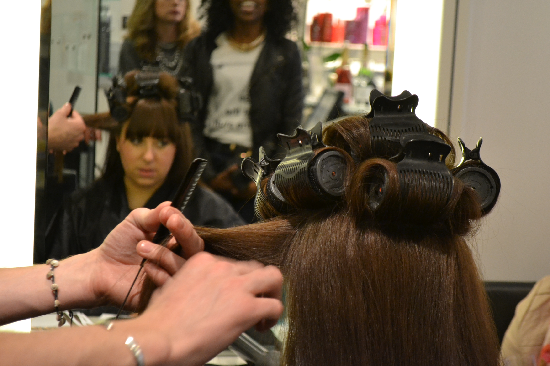 daisybutter - UK Style and Fashion Blog: cloud nine, cloud nine blogger event, know your hair, heat styling ideas