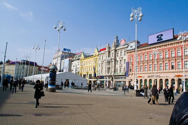 Ban Jelačić Square | Zagreb, Croatia