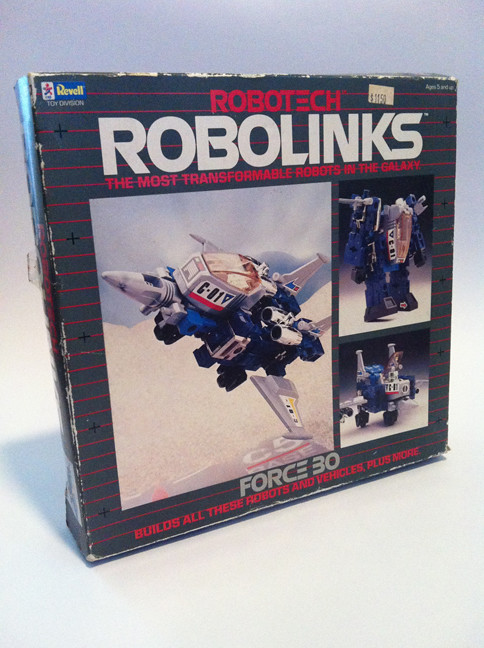 Robotech Robolinks - complete box set (used) - by Revell, 1985 8667459880_26460f4283_b
