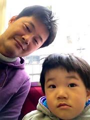 電車にて 2013/4/20
