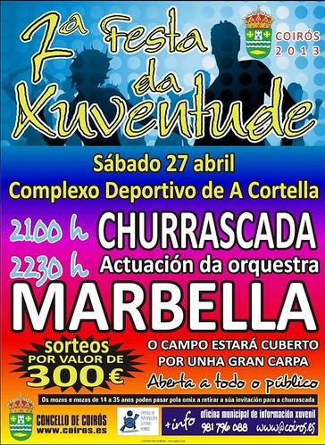 Coirós 2013 - Festa da Xuventude - cartel
