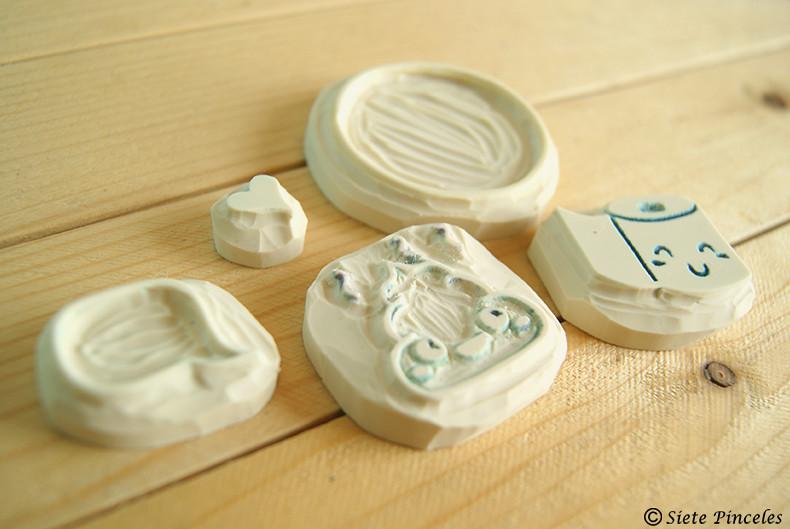 Pareja de sellos simpaticos 9