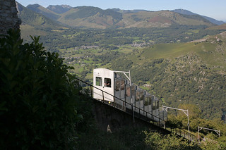 Funicular al Pic du Jer. ©OT Lourdes Studio GP Photo.
