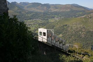 Funicular al Pic du Jer. ©OT Lourdes Studio GP Photo.