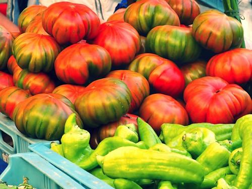 tomatoes, Inca market, Mallorca