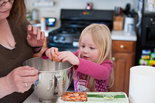 111 Mckenzie Grandma Hietala making banana bread