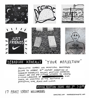 Zebadiah Keneally Exhibition Invite