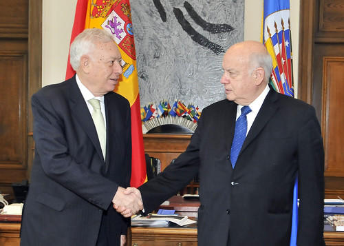 OAS Secretary General Receives Foreign Minister of Spain