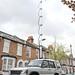 Broadcast van aerial