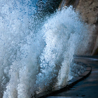 Waves on the Seawall