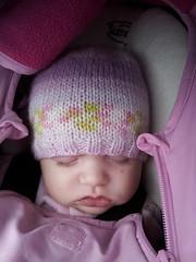 Sleeping in hat