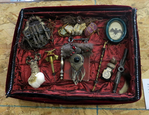AAN2013 Vampire Hunting Kit by Castle Spooktacular Mixed Media