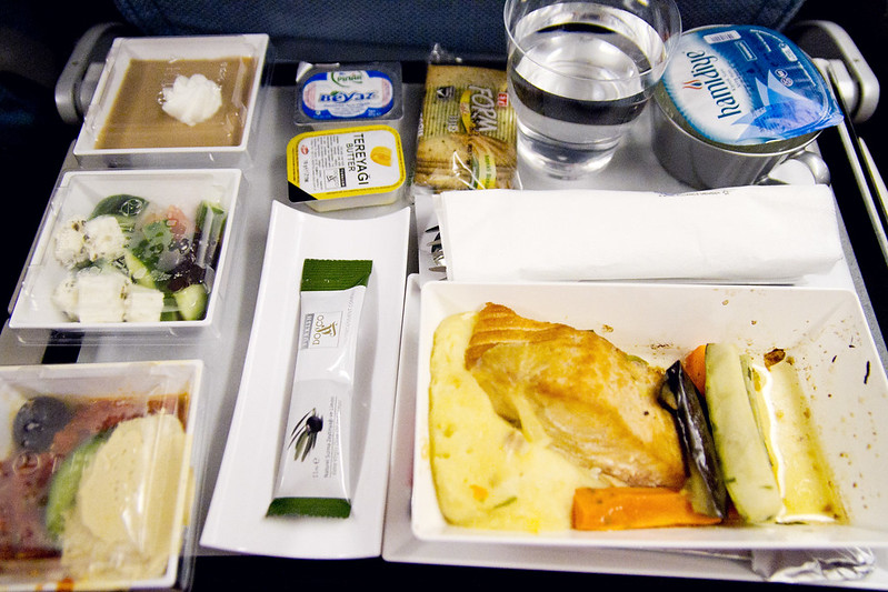 Turkish airlines food