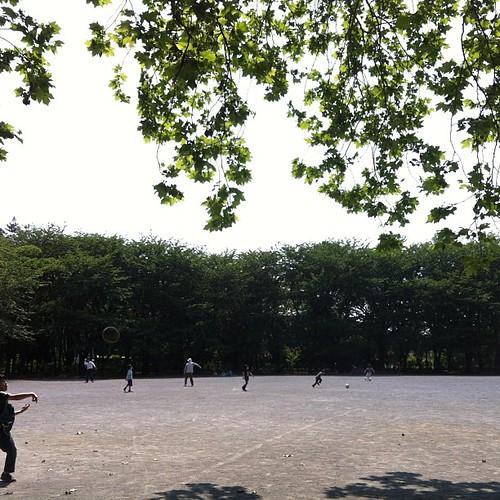 ボール遊びタイム